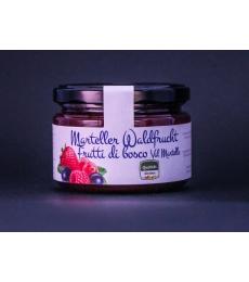 Marteller Waldfrüchte Konfitüre, Seibstock, Confettura frutti di bosco